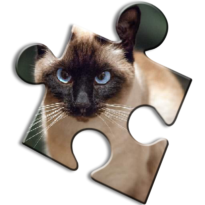 Cat Jigsaw Puzzles messages sticker-8