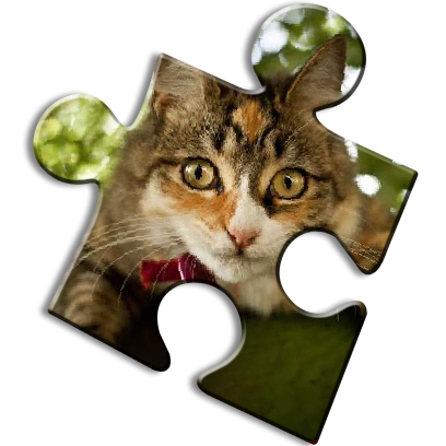 Cat Jigsaw Puzzles messages sticker-0