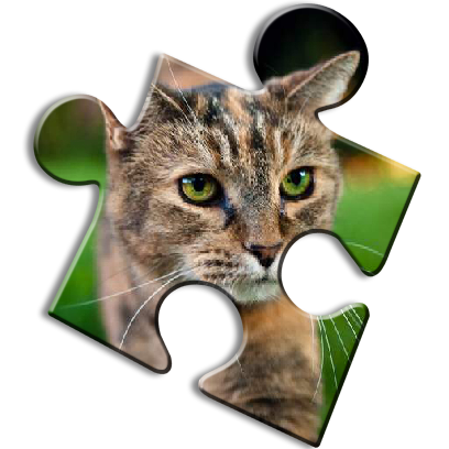 Cat Jigsaw Puzzles messages sticker-7
