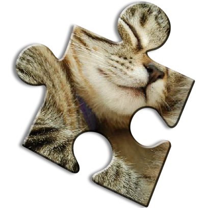 Cat Jigsaw Puzzles messages sticker-2