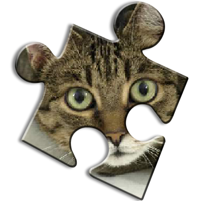 Cat Jigsaw Puzzles messages sticker-5