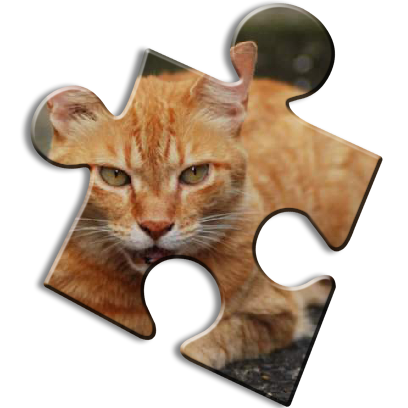 Cat Jigsaw Puzzles messages sticker-10
