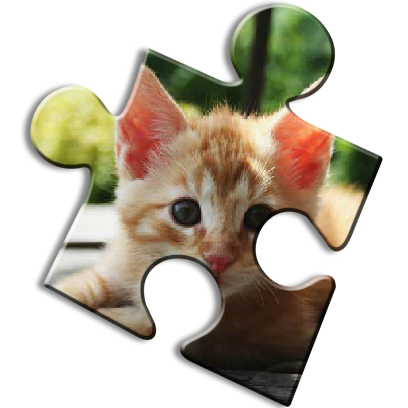 Cat Jigsaw Puzzles messages sticker-3