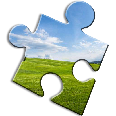 Landscape Jigsaw Puzzles messages sticker-4