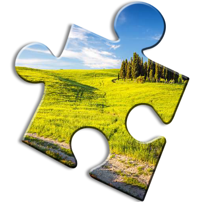 Landscape Jigsaw Puzzles messages sticker-6