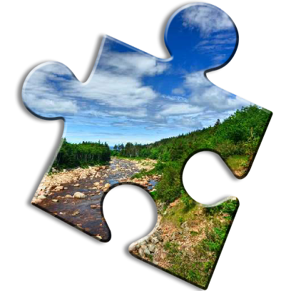 Landscape Jigsaw Puzzles messages sticker-7