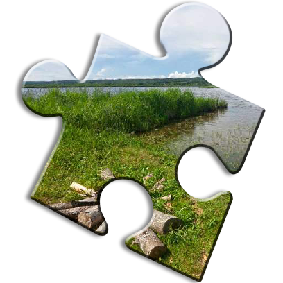 Landscape Jigsaw Puzzles messages sticker-1