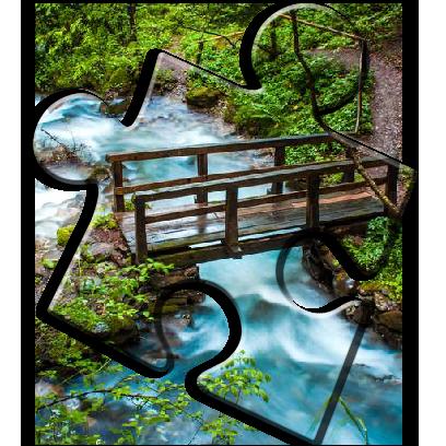 Landscape Jigsaw Puzzles messages sticker-9