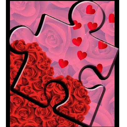 Romantic Love Puzzle Games messages sticker-8