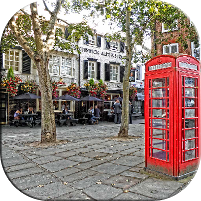 London Jigsaw Puzzle Games messages sticker-0