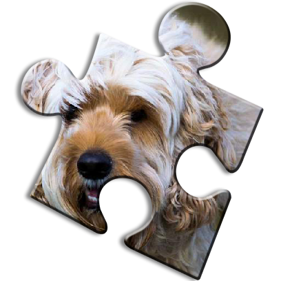 Dog Jigsaw Puzzles messages sticker-0