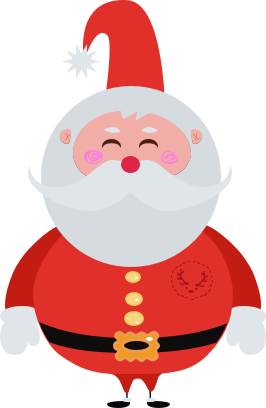 XmasTime - Video calls to your own family Santa messages sticker-0