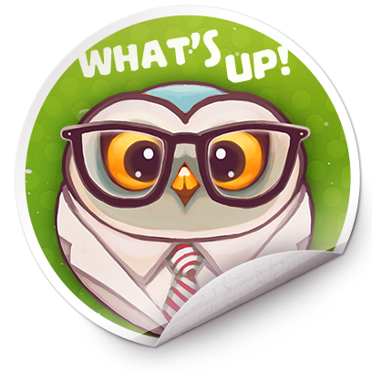 Catomic Match 3: Space Cats and Atomic Owls Puzzle messages sticker-7