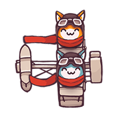 Catomic Match 3: Space Cats and Atomic Owls Puzzle messages sticker-10