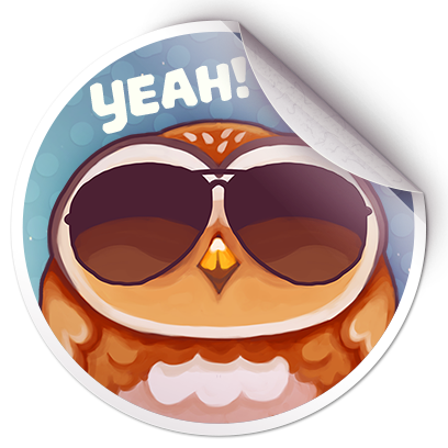Catomic Match 3: Space Cats and Atomic Owls Puzzle messages sticker-8