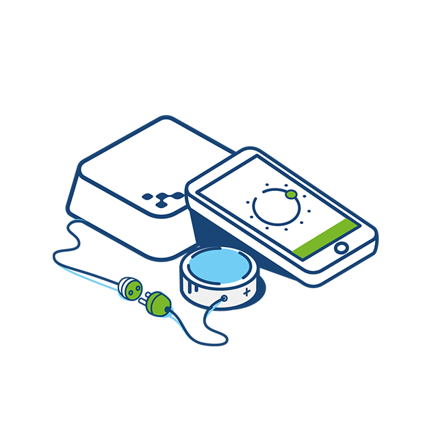 Kontakt.io Administration App messages sticker-7
