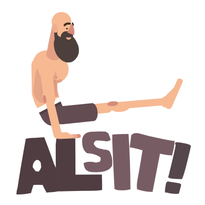 We're Working Out - Al Kavadlo messages sticker-3