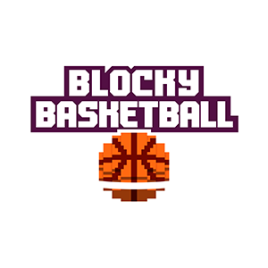 Blocky Basketball - Endless Arcade Dunker messages sticker-1
