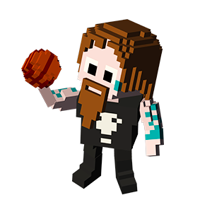 Blocky Basketball - Endless Arcade Dunker messages sticker-6