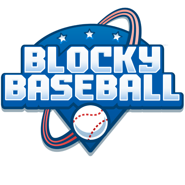 Blocky Baseball: Home Run Hero messages sticker-6