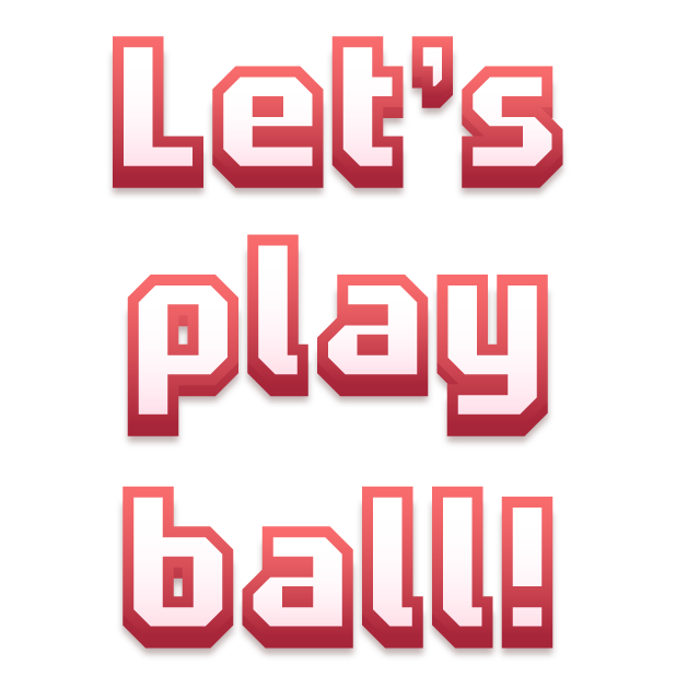 Blocky Baseball: Home Run Hero messages sticker-5