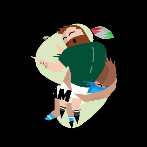 Federazione Italiana Rugby (FIR) messages sticker-2
