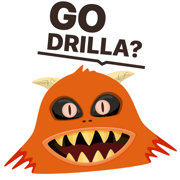 Drilla - the best of digging craft simulator games messages sticker-2