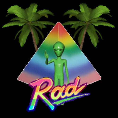 RAD VHS - Retro Camcorder VHS messages sticker-1