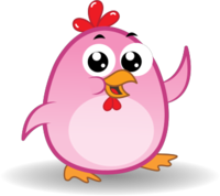 Chicken Emoji messages sticker-5