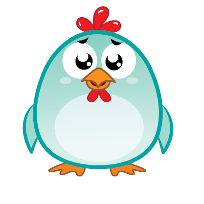 Chicken Emoji messages sticker-2