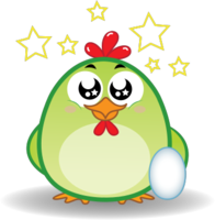 Chicken Emoji messages sticker-8