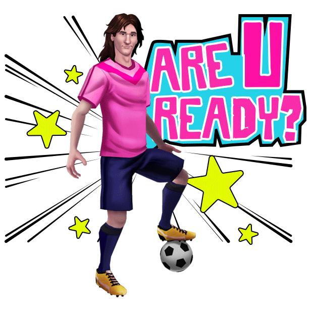 Messi Runner messages sticker-8
