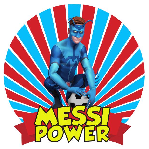 Messi Runner messages sticker-4