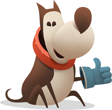 My Diggy Dog: adventure game messages sticker-8