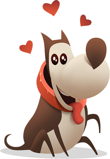 My Diggy Dog: adventure game messages sticker-7