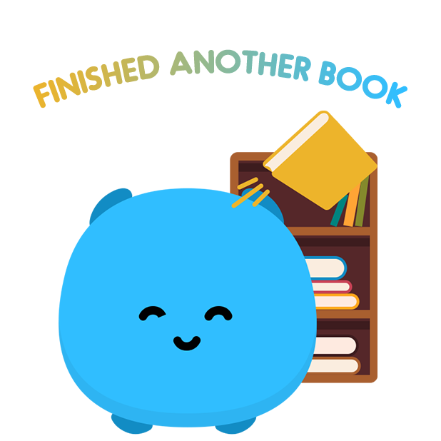 Bookly - Read More Books messages sticker-1