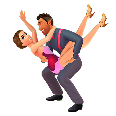 Dancing with the Stars : Game messages sticker-6