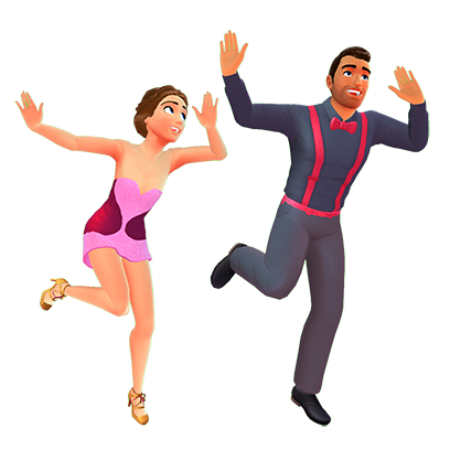 Dancing with the Stars : Game messages sticker-2