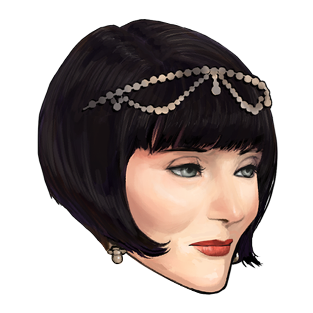 Miss Fisher and the Deathly Maze messages sticker-5
