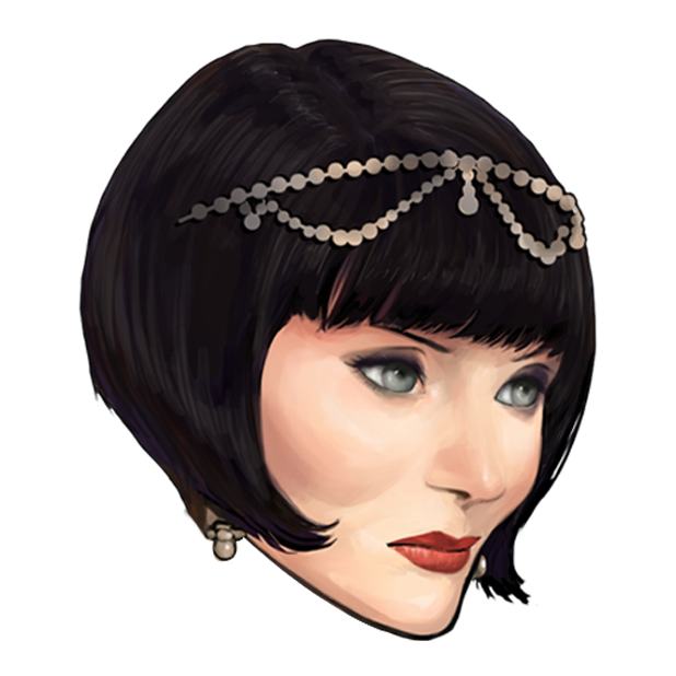 Miss Fisher and the Deathly Maze messages sticker-2
