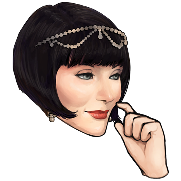 Miss Fisher and the Deathly Maze messages sticker-7
