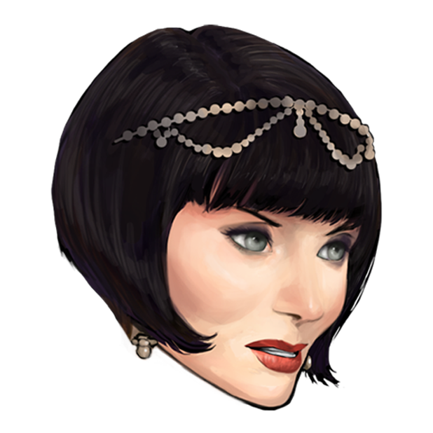 Miss Fisher and the Deathly Maze messages sticker-1
