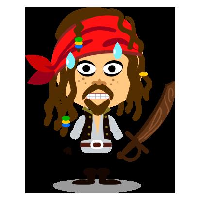 Comomola Pirates messages sticker-3