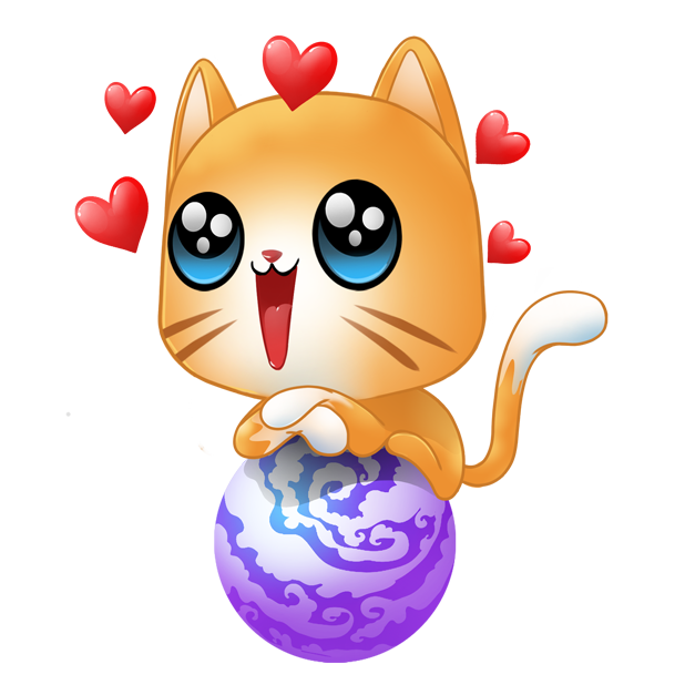 Cosmic Kittens messages sticker-6