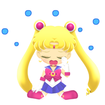 Sailor Moon Drops messages sticker-2