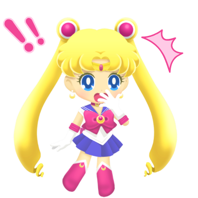 Sailor Moon Drops messages sticker-1