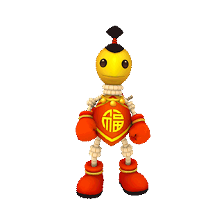 Buddyman Run - keep running! messages sticker-0