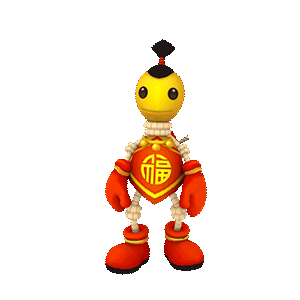 Buddyman Run - keep running! messages sticker-3