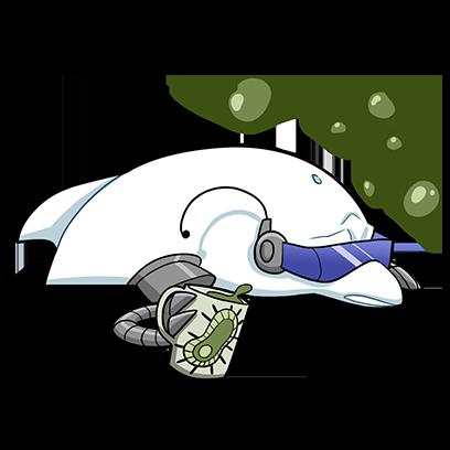 RAD and Tsunami Tuna messages sticker-6