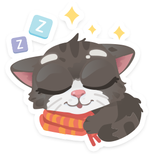 Wordycat messages sticker-4